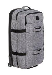 Quiksilver - QUIKSILVER™ NEW REACH 100L - EXTRAGROSSER KOFFER MIT ROLLEN EQYBL - Wheeled suitcase - light grey heather - 2