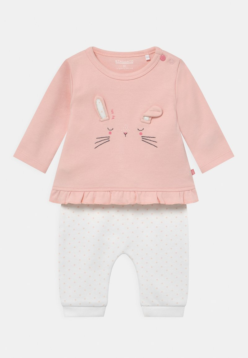 Staccato - SET - Broek - light pink/white