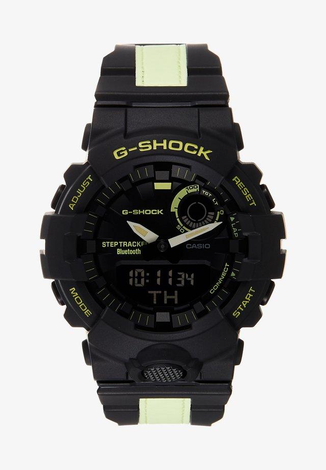 GBA-800 G-SQUAD REFLECTOR - Klokke - black/neon