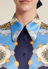 Luisa Spagnoli - Button-down blouse - var blu/celeste/blu - 3