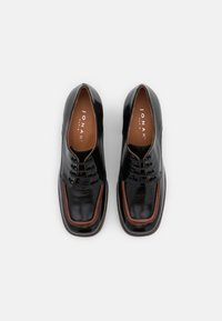 Jonak - BOPHA - Lace-up heels - brillant noir - 5