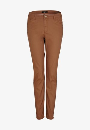 Chinos - chocolate camel