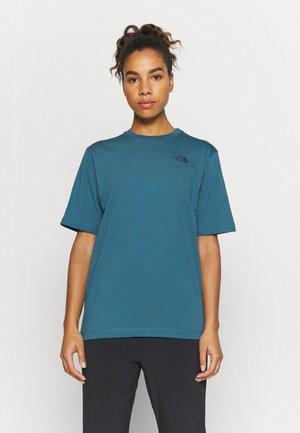 LIBERTY TEE - Print T-shirt - mallard blue