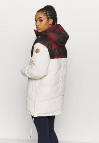Icepeak - ALABAMA - Płaszcz zimowy - natural white - 3