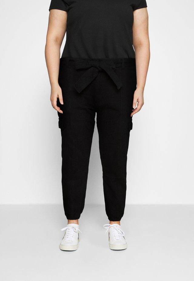 UTILITY TROUSER - Pantaloni - black
