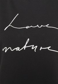 Marc O'Polo - SHORT SLEEVE ROUND NECK - Print T-shirt - black - 2