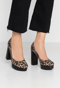 Kennel + Schmenger - AMINA - High heels - camel - 0