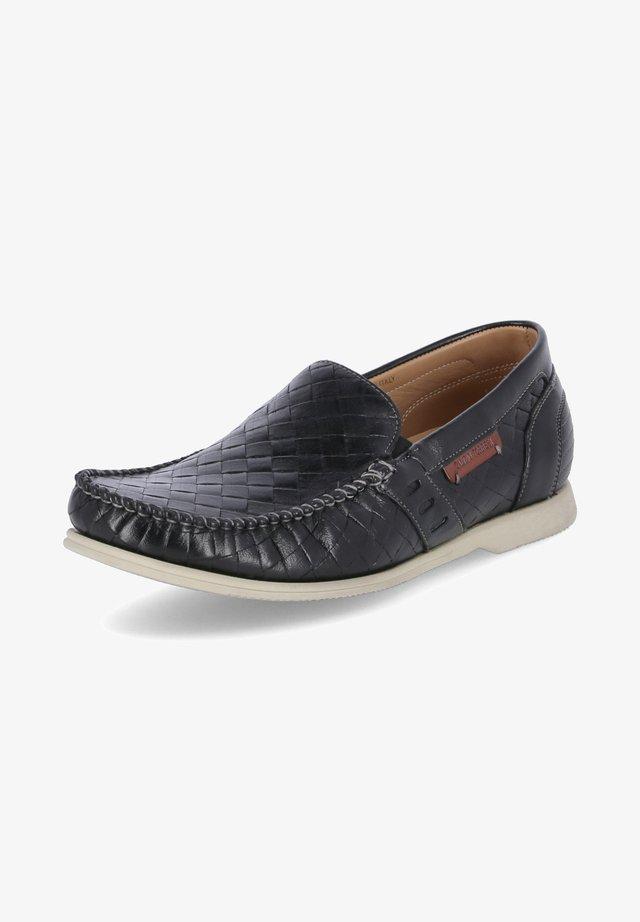 Slip-ons - schwarz