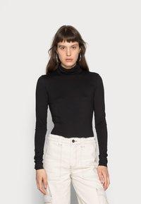 Weekday - CHIE TURTLENECK - Long sleeved top - black - 0