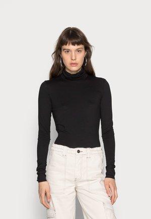 CHIE TURTLENECK - Long sleeved top - black