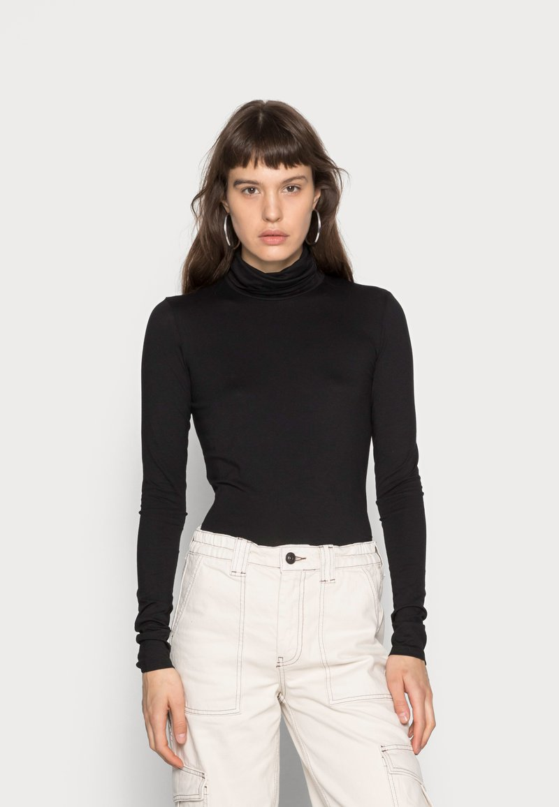 Weekday - CHIE TURTLENECK - Long sleeved top - black