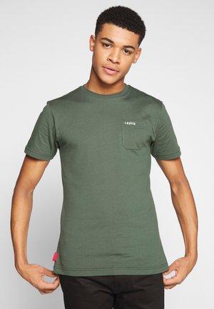 POCKET TEE - Camiseta básica - army