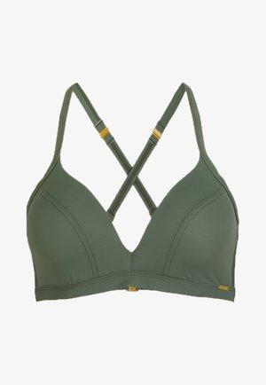 PANAMA - Bikini top - light green