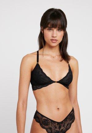 VICTORIA BRA - Triangle bra - black
