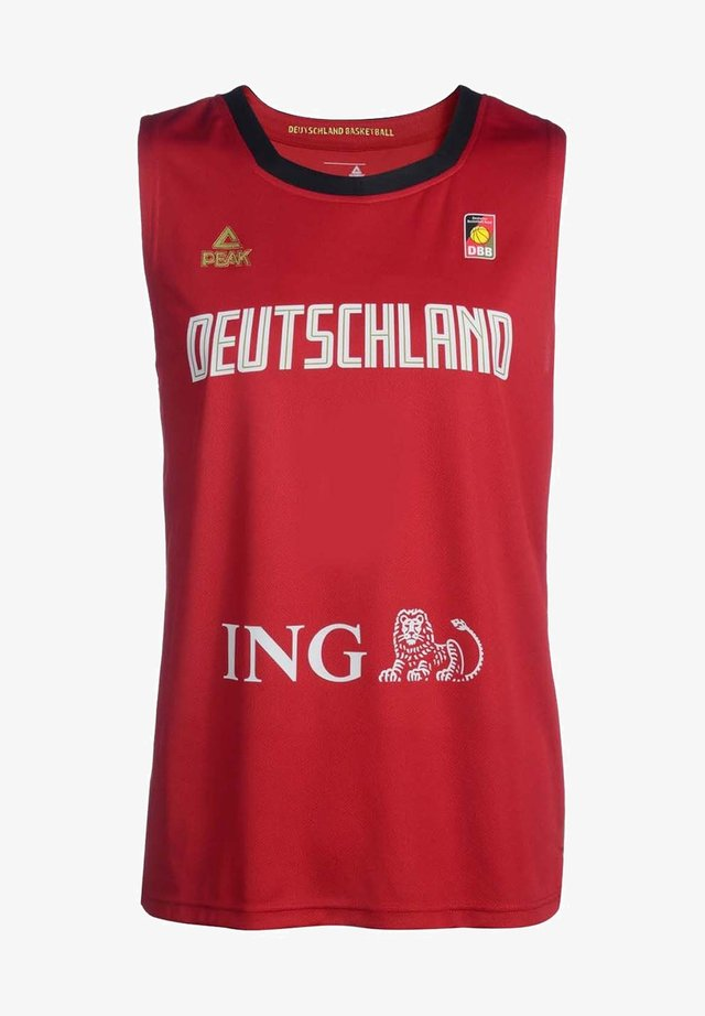 National team wear - rouge