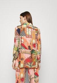 Farm Rio - MYSTIC CITY PAJAMA SHIRT - Button-down blouse - multi - 2
