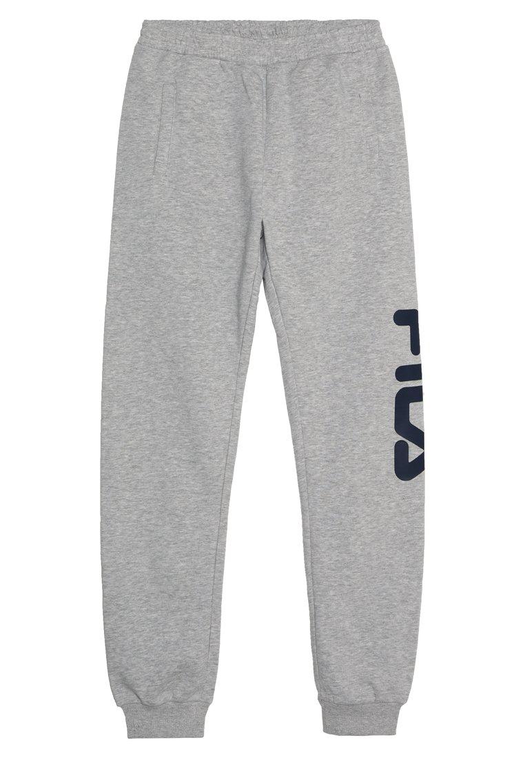 Fila - CLASSIC BASIC PANTS - Spodnie treningowe - light grey melange