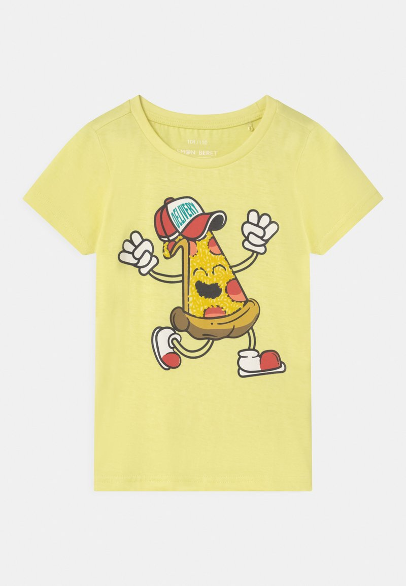 Lemon Beret - SMALL BOYS  - T-shirt con stampa - yellow pear