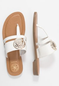 Guess - GENERA - T-bar sandals - white - 3