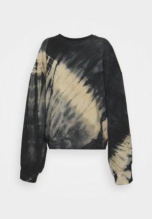 PAMELA OVERSIZED - Sweatshirt - black/white