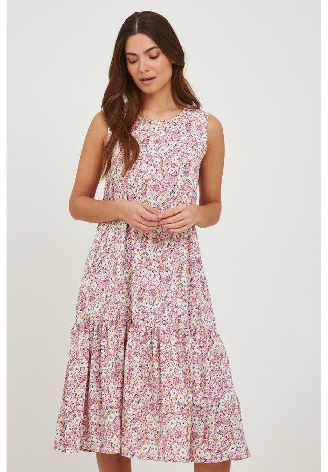 Sukienka letnia - cameo pink multi color