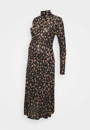 DRESS MOM AGATHA - Pletené šaty - black