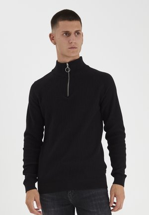 KASPER  - Strickpullover - anthracite black