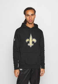 New Era - NFL NEW ORLEANS HOODIE - Club wear - black - 0