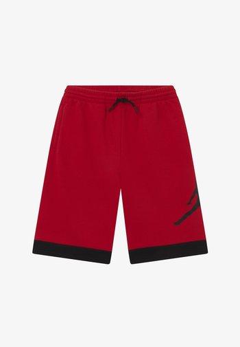 JUMPMAN AIR - Pantaloncini sportivi - black/gym red
