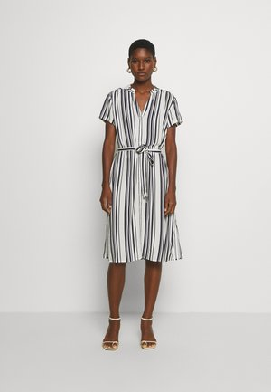DOREEN - Day dress - off white/navy