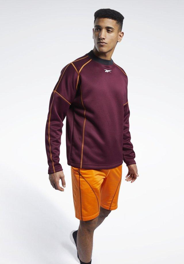 MYT CREW SWEATSHIRT - Sweatshirt - burgundy