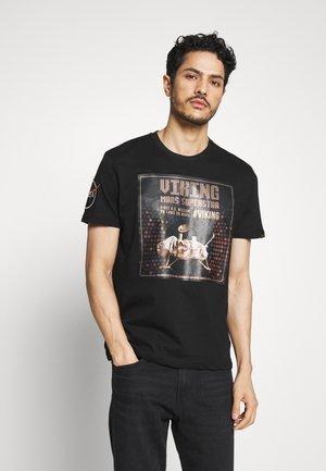 SUPERSTAR - Print T-shirt - black