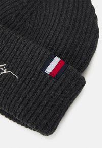 Tommy Hilfiger - SIGNATURE BEANIE UNISEX - Beanie - charcoal gray - 2