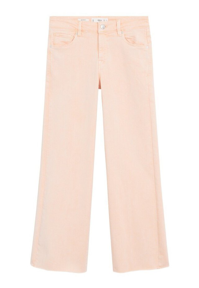 AUDREY - Flared Jeans - roze