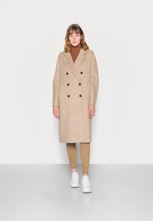 BLEND MAXI COAT - Classic coat - beige