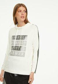 comma casual identity - Sweatshirt - light cream placeed print - 0