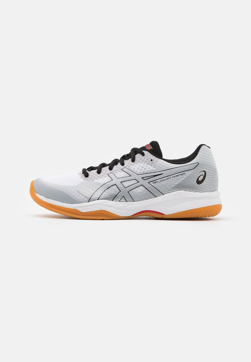 ASICS - COURT HUNTER - Multicourt tennis shoes - white/piedmont grey