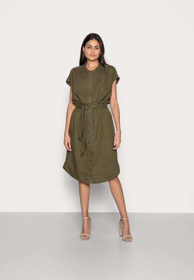 DRESS - Blousejurk - khaki green