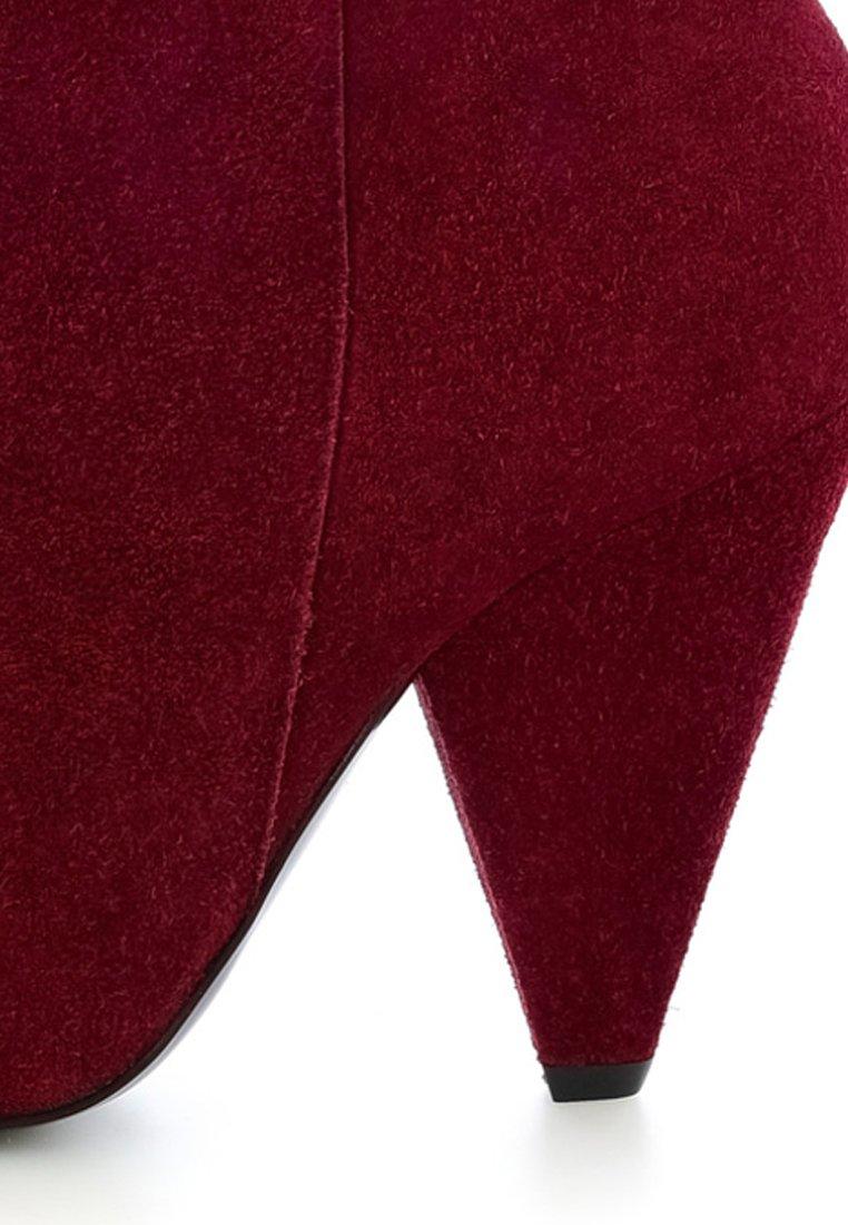 PRIMA MODA PIGRA - Bottines à talons hauts - red - Chaussures à talons femme Classique