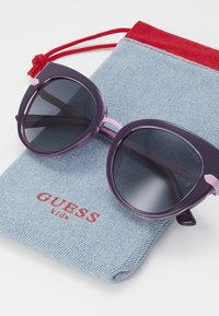 Guess - INJECTED - Sunglasses - black/pink - 2