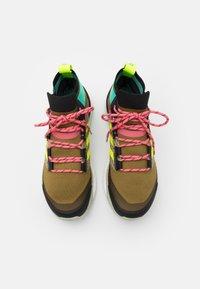 adidas Performance - TERREX  FREE HIKER PRIMEBLUE - Hikingsko - wild moss/core black/acid mint - 3