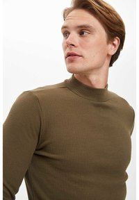 DeFacto - T-shirt à manches longues - khaki - 6