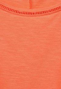 Cecil - Basic T-shirt - orange - 4
