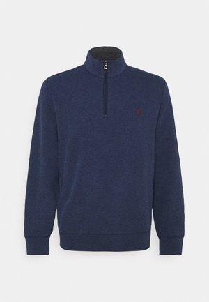 JERSEY QUARTER-ZIP PULLOVER - Sweatshirt - spring navy heather