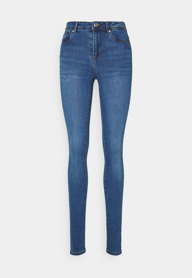 VMTANYA PIPING  - Jeansy Skinny Fit - dark blue
