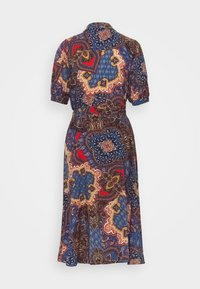 Wallis - PAISLEY SHIRT DRESS - Korte jurk - blue - 1