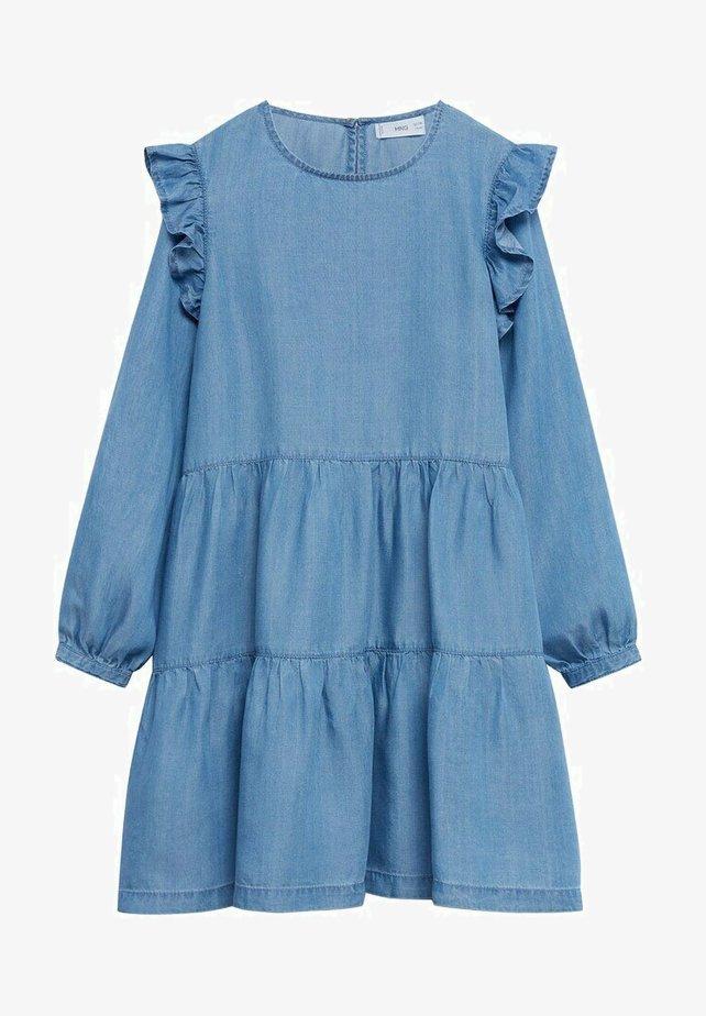 Mango - Denim dress - light blue