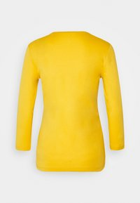 TOM TAILOR - DOUBLE FRONT - Top sdlouhým rukávem - california sand yellow - 1
