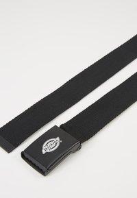 Dickies - ORCUTTWEBBING BELT UNISEX - Belt - black - 3
