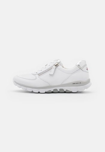 ROLLING SOFT - Sneakers laag - weiß/silber